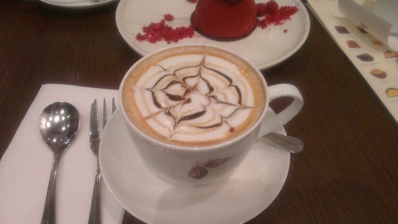 Hot chocolate at Koko Black