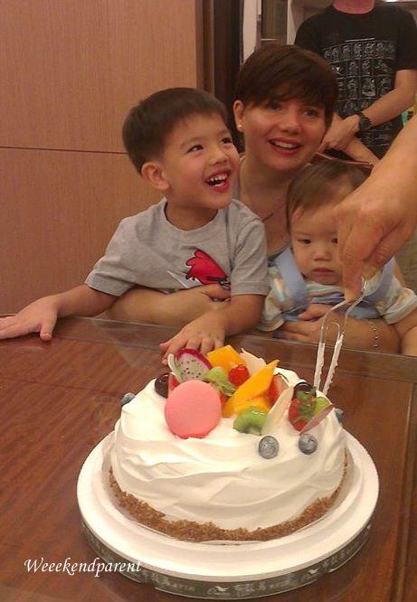 Audie birthday cake