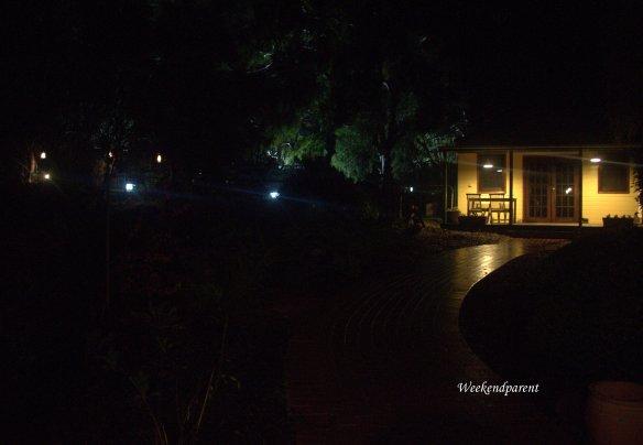 A quiet moment outside Poacher's Pantry