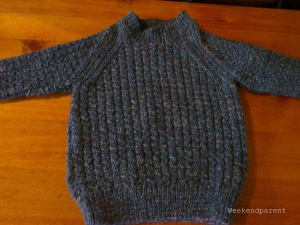 The finished jumper