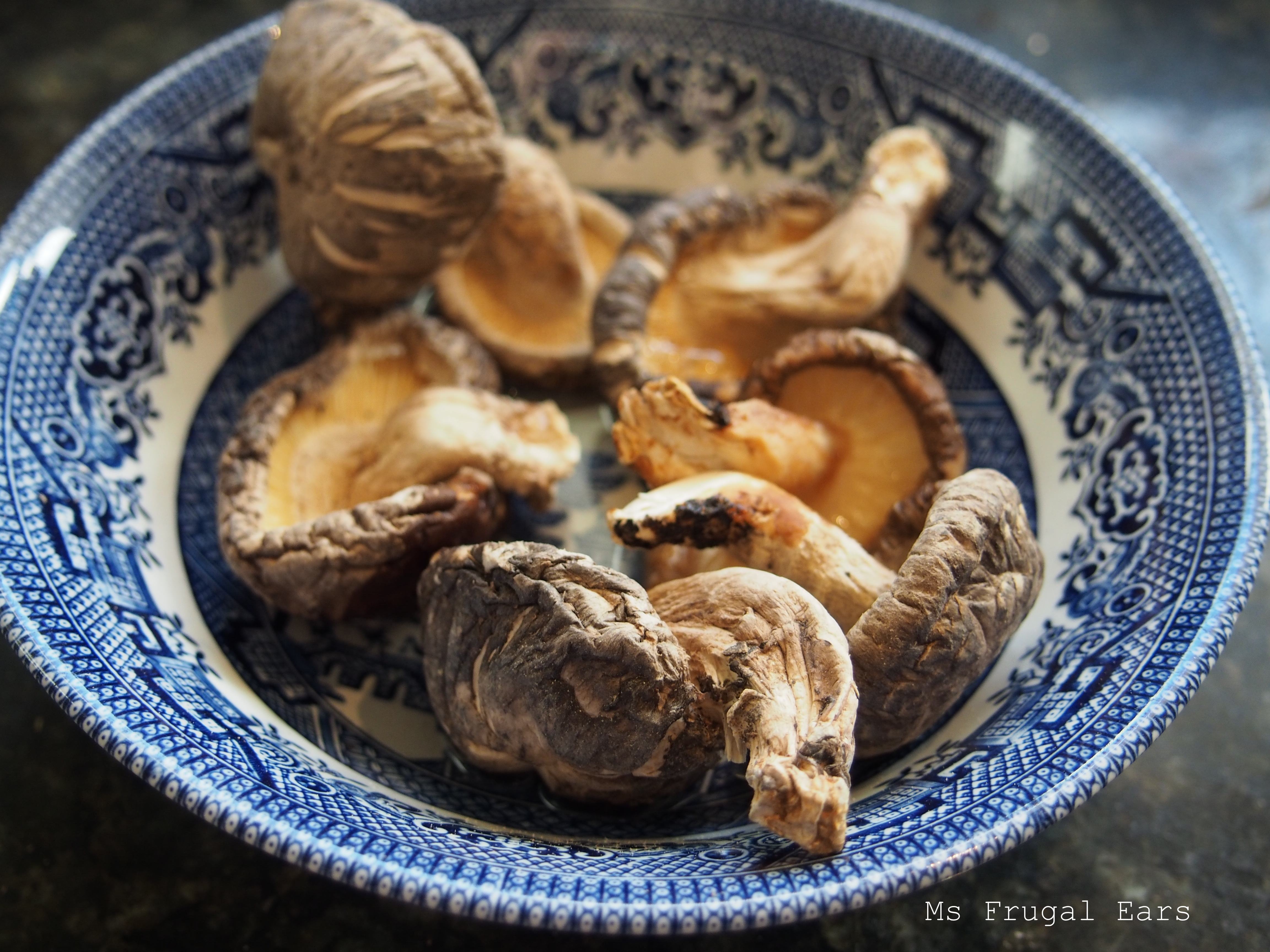 how to cook shiitake mushrooms for soup