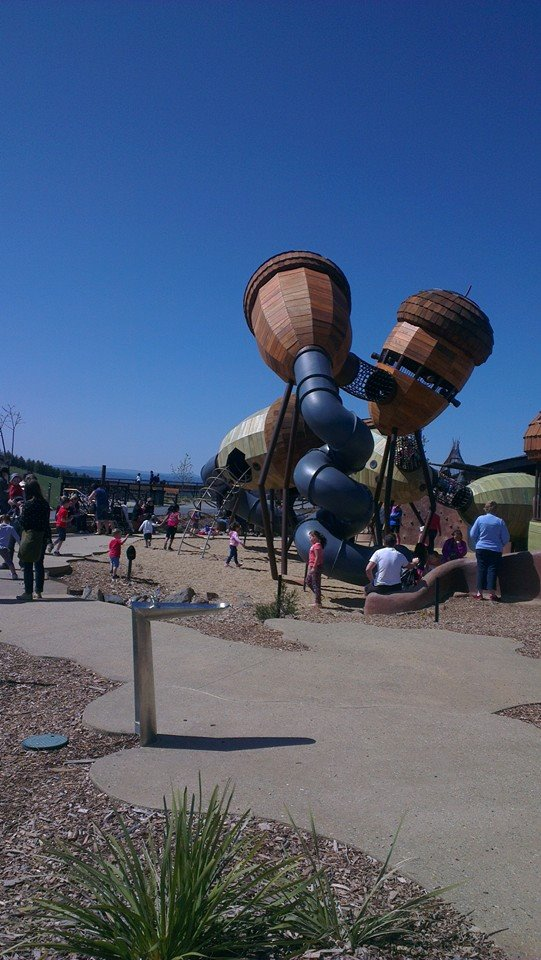 The Pod Playground at the National Arboretum