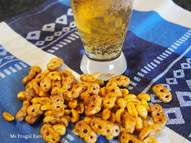 Nuts and bolts go well with beer