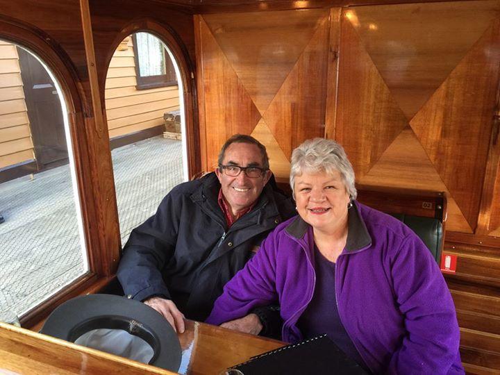 Trish and Bob, enjoying an adventure together