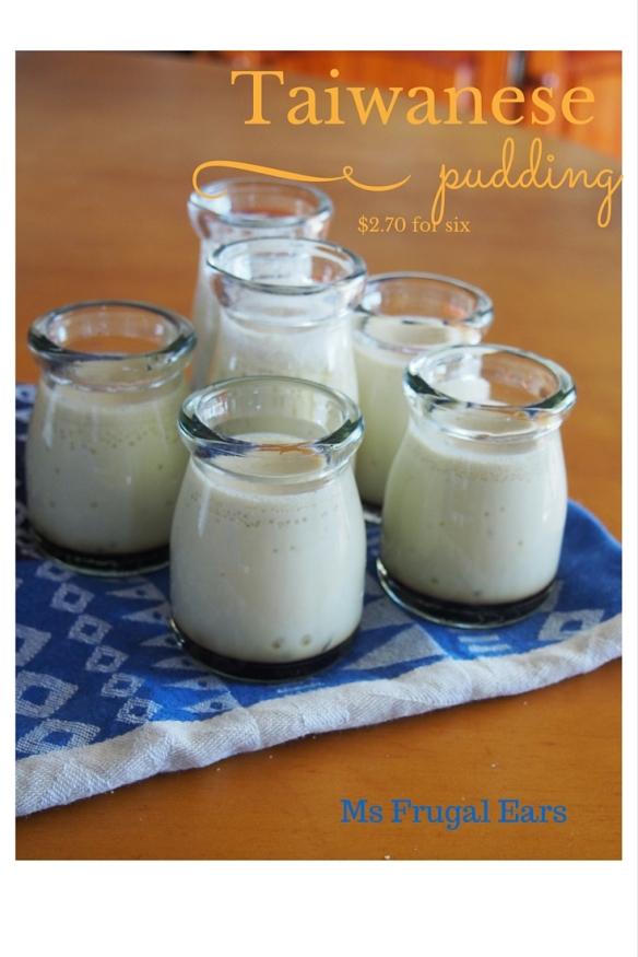 Taiwanese puddings