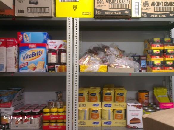 Pantry at Foodbank
