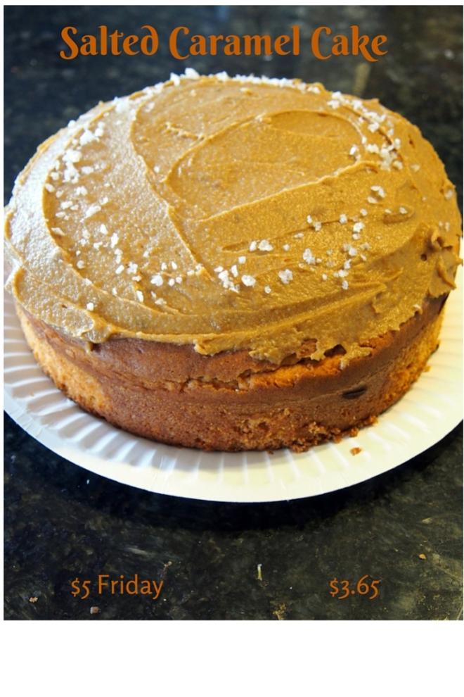 Salted Caramel Cake $3.65