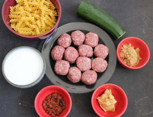 Meatball ingredients