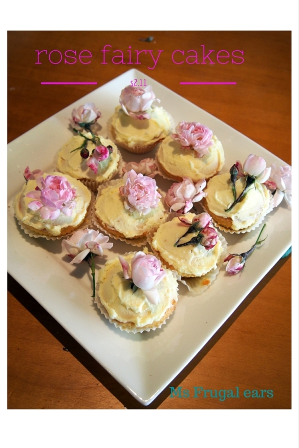 Pink rose cupcakes as a cover picture