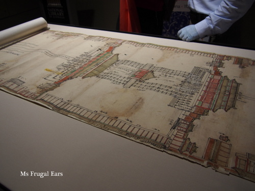 Detail of the Forbidden City plans