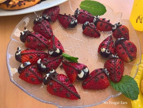 Strawberry beetles