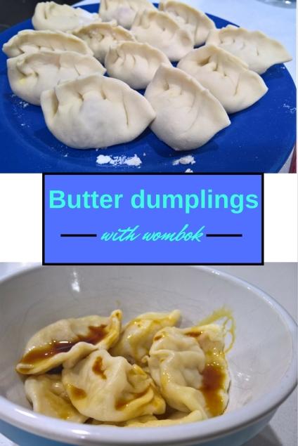 Picture of butter dumplings