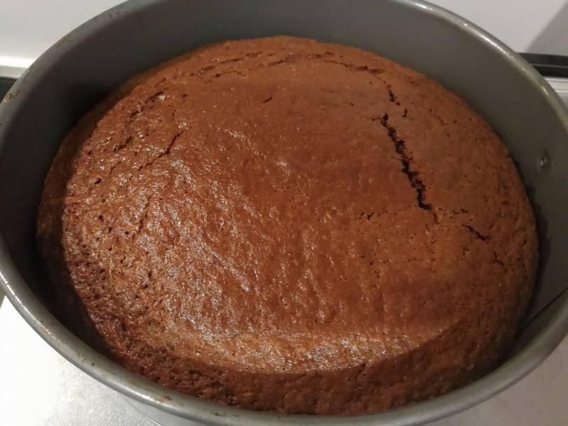 a chocolate zucchini cake